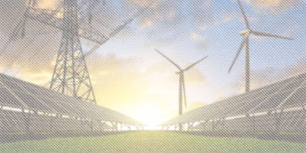 Voltaik Windkraft Anlage