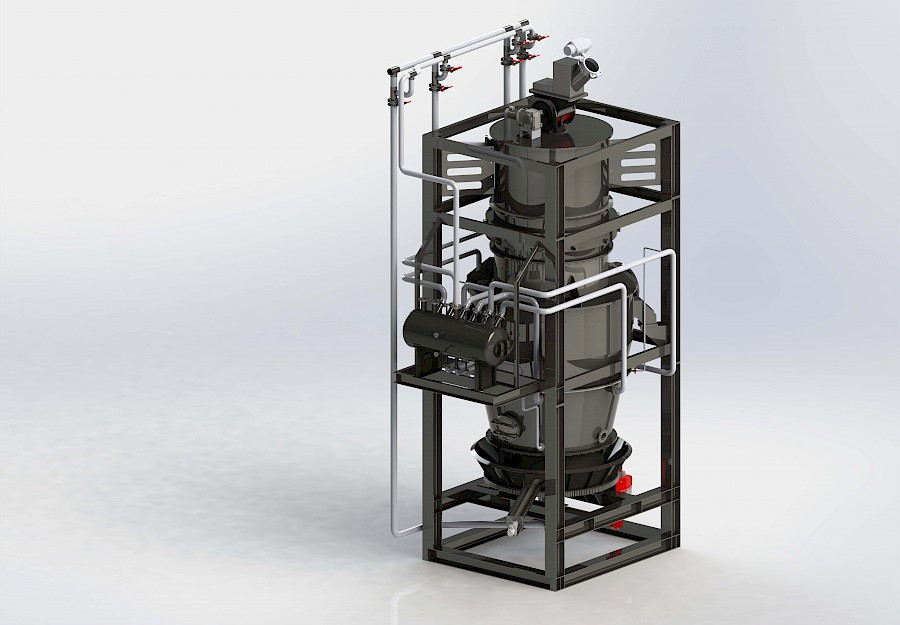 Modell-eines-Reaktors