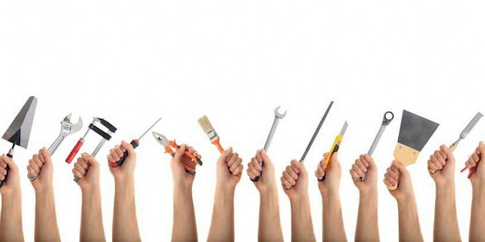 Werkzeug Hände