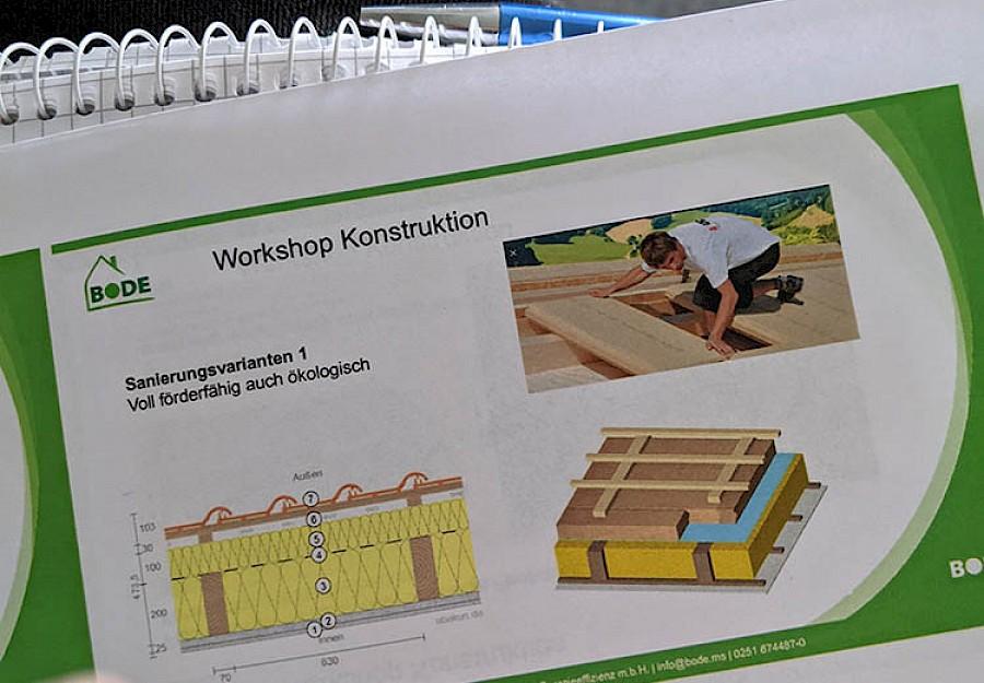 Jeder Teilnehmer erhält eine ausführliche Dokumentation für die Nachbereitung des Workshops