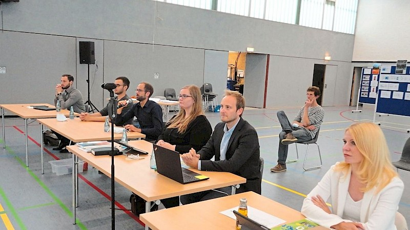 Gleich mehrere Referenten waren in der Sitzung des Bau- und Umweltausschusses Foto: Westfälische Nachrichten