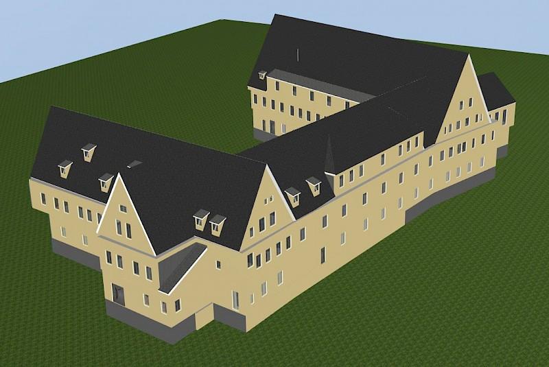 3D-Modell Sanierungskonzept