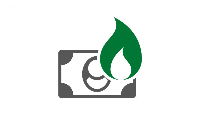 Geld verbrennen