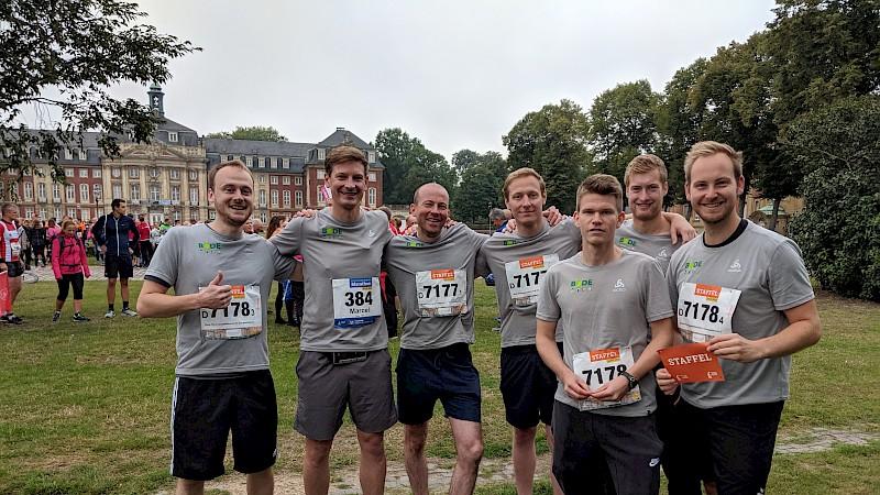 Bode Team für Staffelmarathon